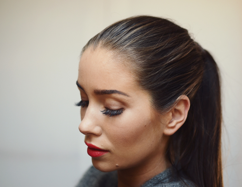 Guerlain red lips